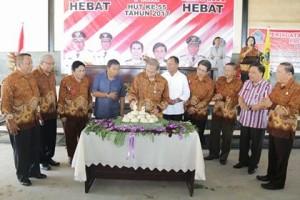 Hadiri HUT PWRI ke-55, Sumendap Minta PWRI Berkontribusi Bagi Pembangunan di Sulut
