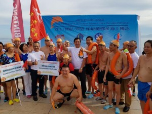 Ratusan Turis Tiongkok Meriahkan Swim Fest 2017