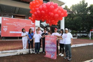Peringatan Hari Jantung Sedunia Sulut, Kandouw: Masyarakat Penting Jaga Kesehatan