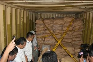 Di Minahasa, Kemendag Tinjau Gudang Penyimpan 7,5 Ton Boraks