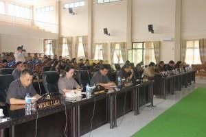 Rapat Paripurna Pengajuan Ranperda Inisiatif
