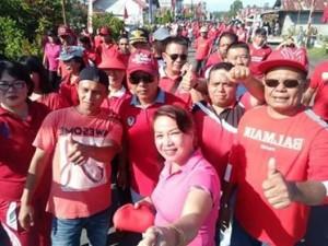 Kunjungan Kerja Pemkab Mitra, Kecamatan Touluaan
