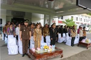 Jajaran pejabat pada Peringatan Hari Kesaktian Pancasila