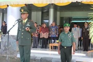 Hari Kesaktian Pancasila, Pemkab Minsel , Letkol Inf Juberth Nixon Purnama STh