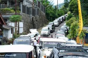 Para peserta yang begitu antusias mengikuti Rally Wisata J-Man Pas 2017