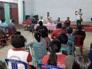 Serap Aspirasi Masyarakat, Sumendap Kunjungi Seluruh Desa di Kecamatan Tombatu dan Tombatu Utara