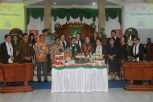 Perayaan HUT ke-149 Jemaat GMIM Bukit Sion Rurrukan