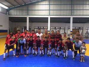 Tim Futsal Minahasa , porprov sulut 2017
