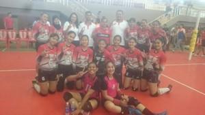PORPROV 2017, tim Voli Ball Putri Minahasa