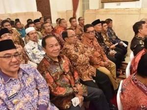Walikota Bitung Ikut RKP di Istana Negara