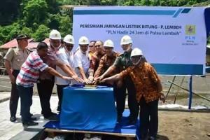 Lembeh, listrik pulau Lembeh , PT PLN Wilayah Suluttenggo