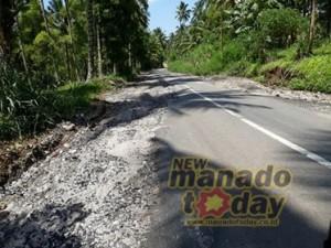 Jalan Tenga–Pakuure,  PT Sederhana Karya Jaya,  Dinas PU Minsel, Feliks Pasla ST,