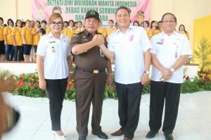 Wali Kota Tomohon, wawali, Sekkot bersama Kajati Sulut