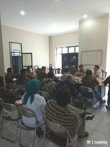 Piet Pungus SPd saat menerima kunjungan Komisi IV DPRD Klaten