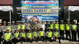 Operazi Zebra 2017, Polres Minahasa Selatan