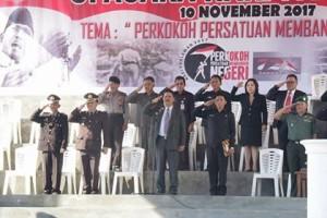Asisten Satu Gotlieb Mamahit Irup Peringatan Hari Pahlawan di Minahasa Tenggara