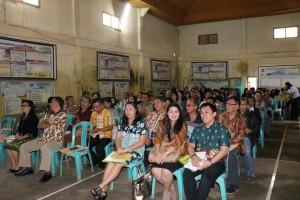 Para peserta kegiatan BKSAUA