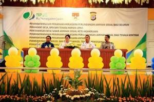 Sadar Jaminan Sosial,  Desa Sadar Jaminan Sosial