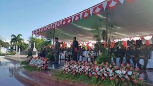Bupati JWS Irup Peringatan Hari Pahlawan