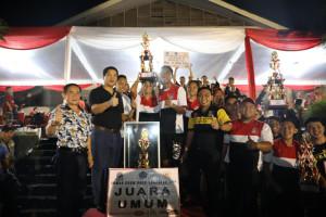 Ditutup Wagub Kandouw, SMA N 1 Tomohon Juara Umum Drum Band Gubernur Cup