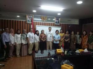 Ketua DPRD Tomohon bersama Komisi III dan instansi terkait di Kementerian ESDM