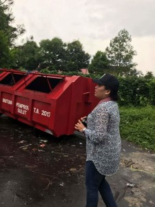 Christina Maria Natalia, penilai Adipura dari Kementerian Lingkungan Hidup dan Kehutanan