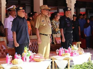 Olly Hadiri Upacara HUT Brimob ke-72 di Sulut
