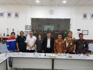 Foto bsrsama jajaran Pemkot Tomohon dan PT PGE