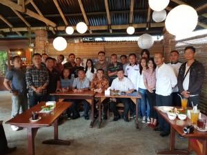 Bersama Jurnalis Independen Tomohon (JIT) usai pertemuan di PGE Lahendong