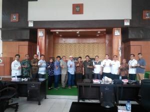 Kunjungan Kerja Komisi III DPRD Tasikmalaya di DPRD Tomohon