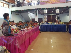 Pnt Ir Miky JL Wenur dalam Lokakarya Pendirian WCC di Ambon