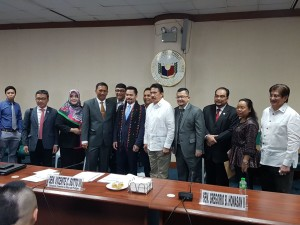 Delegasi Indonesia dan Delegasi Filipina