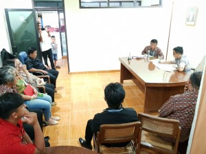 SBAN Liow rapat bersama staf usai monitoring
