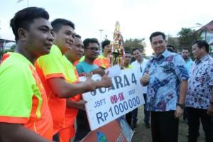 JSFT 2017 Sukses, MBFC Polres Bolmong Raih Juara Pertama
