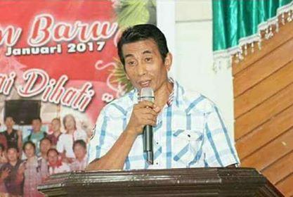 Panwaslu Minahasa Tenggara, Jhon Kandow, Wartawan Senior