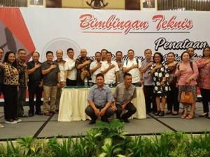 KPU Minahasa , Bimtek Penataan Dapil , pilkada minahasa 2018