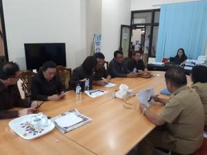 Komisi II DPRD Tomohon bahas Kartu Tani dengan Instansi Teknis