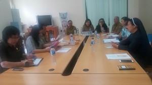 Komisi III DPRD Tomohon dengan Instansi teknis serta pihak Akademi Keperawatan RS Gunung Maria