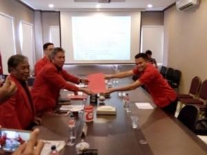 PDI-P Sulut, Ronald Kandoli, pilkada mitra 2018