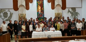 Pemateri dan peserta katekisasi