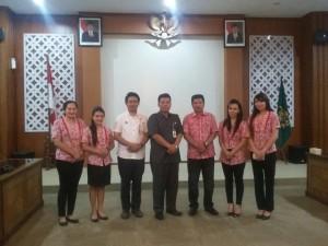 Humas dan Protokol Setdakab Minahasa , Kota DIY,Drs. Moudy Pangerapan, Daine Lantang,