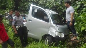 Pick Up Masuk Jurang di Gunung Potong, Jhon Warga Desa Talikuran Tewas
