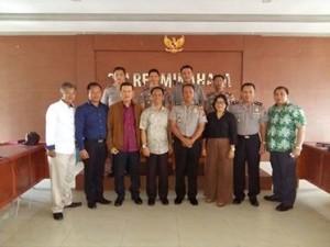 Perguruan Tinggi Ilmu Kepolisian , PTIK Jakarta ,Polres Minahasa