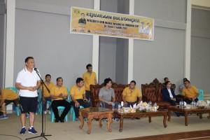 Wali Kota Tomohon membuka Kejuaraan Buluitangkis se-Sulut