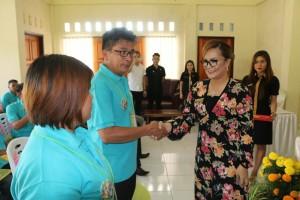 Wakil Wali Kota Tomohon membuka kegiatan pelatihan