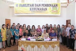 Wakil Wali Kota bersama narasumber dan peserta kegiatan