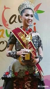 Gabrielle Mandolang, Putri Kemilau Sulawesi 2017