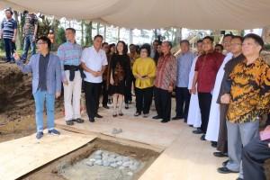 Peletakan batu pertama pembangunan Marron Resort