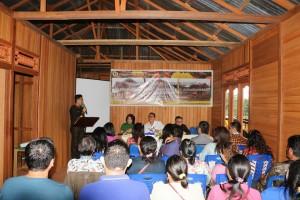 Wali Kota Tomohon Canangkan Kawasan Produk Unggulan Rumah Panggung