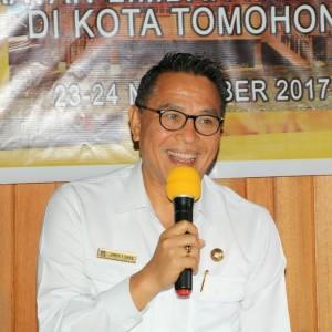 Wali Kota Tomohon Jimmy F Eman